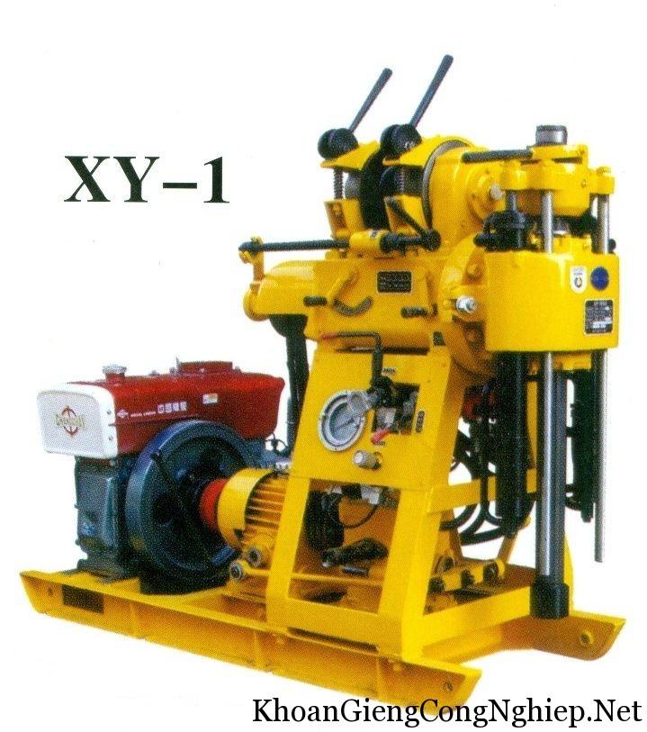 máy khoan giếng kinh thám XY-1